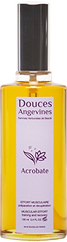 Acrobate, huile corporelle, effort musculaire - Douces Angevines