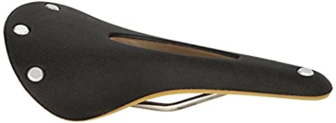 Brooks England Men's Cambium C17 Carved Saddle, (Pelle Brooks Sella Della Bici)