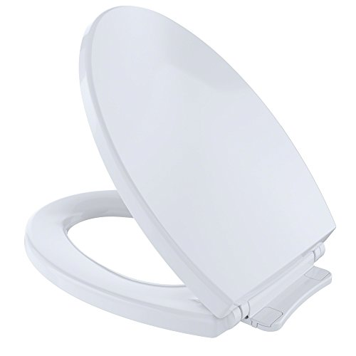 Toto SS114#01 Traditional SoftClose Elongated Toilet Seat, Cotton White by Toto (Toto Bidet Wc-sitz)
