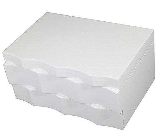 Joyero-de-madera-de-color-blanco-2-cajones-con-espejo-diseo-contemporneo-ondulado