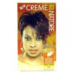 Creme of Nature colour long lasting 4.5 sunset brown