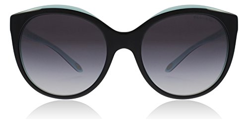 Tiffany & Co. Damen 0TY4133 80553C 56 Sonnenbrille, Schwarz (Black/Blue/Graygradient)