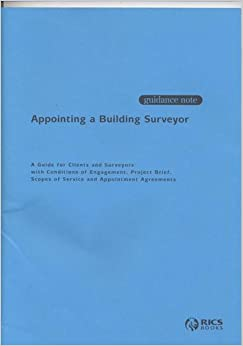 Book Appointing a Building Surveyor: Conditions of Engagement for Building Surveying Services