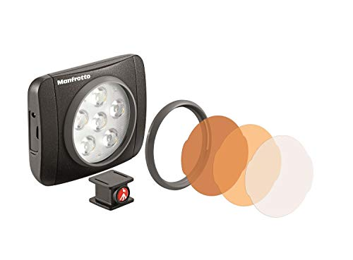 Manfrotto Lumimuse 6 - Luz LED y accesorios, color negro