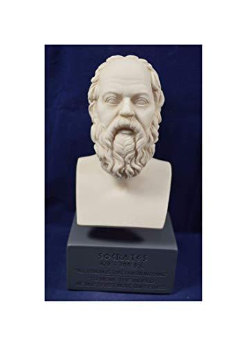 Sokrates-Skulptur, Reproduktion einer Büste des antiken griechischen Philosophen