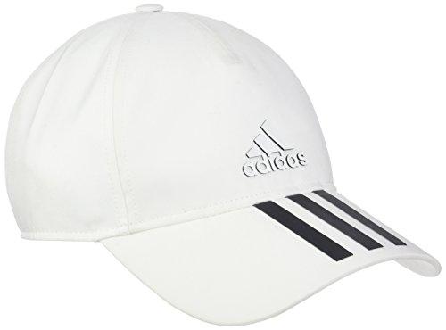 adidas Classic Six-Panel Climalite Mütze, White/Black, OSFC