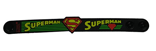 ESHOPPEE Superman wrist band with lock button