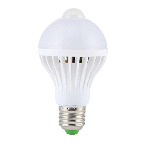 Führte Pir Bewegungs Sensor Auto Lampe Infrarot Energiesparlampe 9W Weiß (Ge-bewegungsmelder Led-licht)