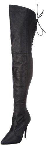 Pleaser LEGEND-8899 Damen Stiefel Blk Leather (P)