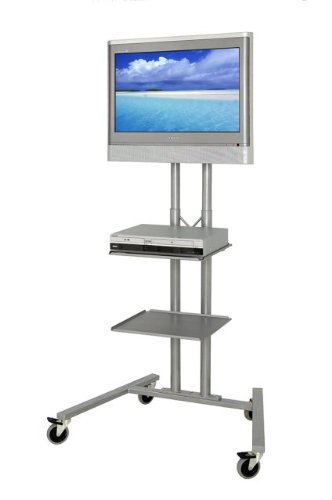 HOPCO LCD TV AV EDUCATIONAL TROLLEY STAND NOW WITH ONE FREE SHELF