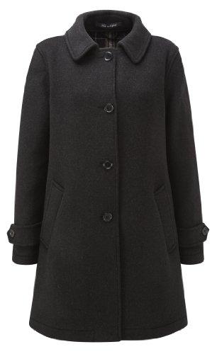 Original Montgomery Paddock Coat Damen, Größe 48, Charcoal