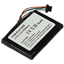 subtel® Batería premium compatible con Acer n35, Airis N509, NC05, T605, Bluemedia BM-6380, PS1020, NavMan PiN 570, Typhoon MyGuide 3600 3610 3620, ...