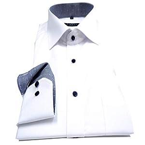 eterna Herren Langarmhemd Business-Hemd Comfort Fit Kent-Kragen unifarben mit Patch