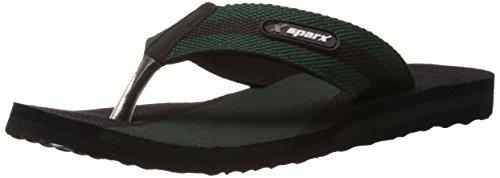 Sparx Men's Mehendi Black Flip-Flops and House Slippers - 6 UK/India (39.33 EU) (SFG-14)