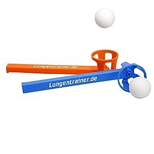 HAB & GUT Atemtrainingsgerät Flow-Ball – Plus – 10er Set