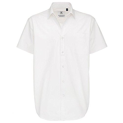B & C Collection Sharp manica corta/uomini White