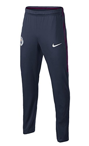 Nike Manchester City Squad Tracksuit Pants–Jungen, 12/13Jahren (Navy Blau) (Taille Jersey Nike Elastische)