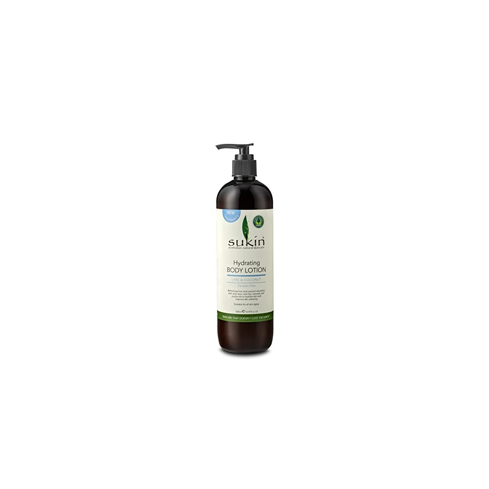 Sukin Hydrating Body Lotion Lime Coconut 500ml