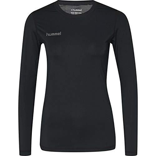 Hummel Damen Funktionsshirt First Performance Jersey L/s 204515 Black XS
