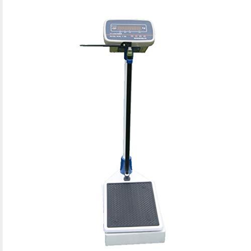 Altezza E Scala di Peso, Bilance Elettroniche, Bilancia Digitale Ad Alta Precisione - Schermo di Visualizzazione HD, 70-190 Cm, 2-150 kg