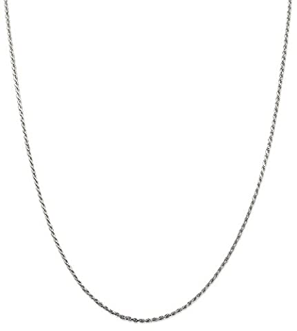 IceCarats 925 Sterling Silver 1.5mm Link Rope Chain Necklace 24 Inch