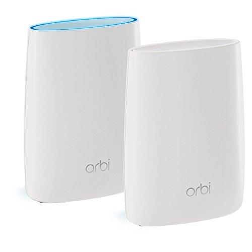 Netgear Orbi RBK50-100INS Home Wi-Fi System (White)