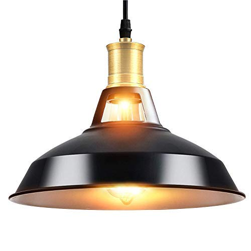 Maxmer Industrielle Retro PendelleuchteLED Kronleuchter Vintage Loft Hängelampe E27 Leuchtmittel für Küche, Wohnzimmer, Schlafzimmer Restaurant,Barusw (keine Lichtquelle enthalten) (s2)