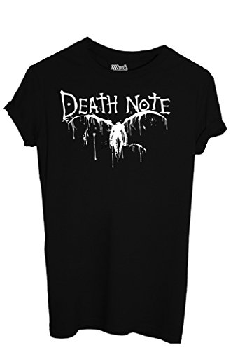 T-Shirt DEATH NOTE - CARTOON by iMage Dress Your Style - Uomo-XL-NERA