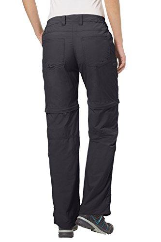 VAUDE Damen Hose Women's Farley Zip Off Pants IV Kurzgröße basalt