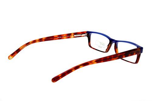 Benetton - Monture de lunettes - Femme Blau-Braun