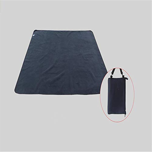 Klein Ball Teppich-Entwurmung Picknick Im Freien Feuchtigkeit Pad Dicke Tragbare Faltzelt Mat140X200CM (Einfachheit Besteck Set)