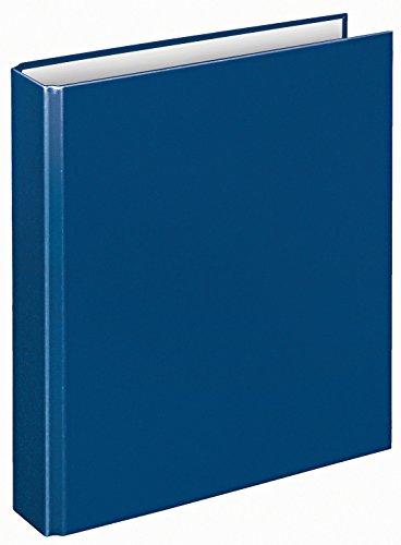 Veloflex 1151050 Ringordner Basic, Ringbuch, Ordner, DIN A5, 2-Ring-Mechanik, 196 x 230 x 30, Karton, blau