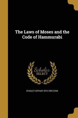 LAWS OF MOSES & THE CODE OF HA