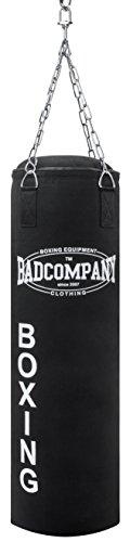 Bad Company Profi Canvas Boxsack schwarz inklusive Heavy Duty Vierpunkt-Stahlkette Abbildung 2