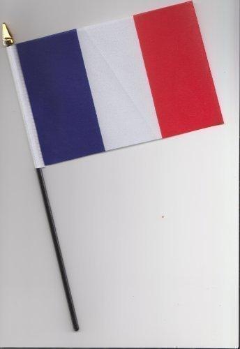 1000 Flags Drapeau de la France 25cm