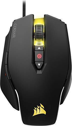 Foto Corsair M65 PRO RGB Mouse Ottico da Gioco, RGB Retroilluminato, 12000 DPI, FPS, con Cavo, Nero