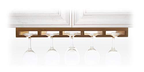 Weinglashalter Gläserhalter Gläserregal aus Bambus (Küche Aufbewahrung & Ordnungssysteme aus Holz)