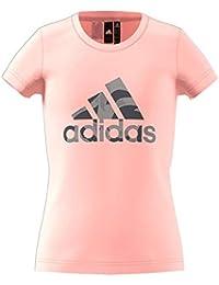 adidas Mädchen Logo Ärmelloses T-Shirt