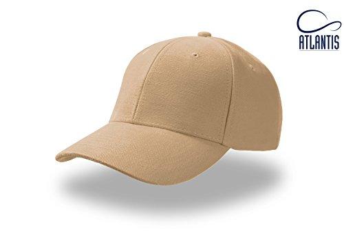 PILOT KAKI Baseball Cap Cappello Hüte Kappen Chapeaux Berretto Cotone Fibbia Metallo