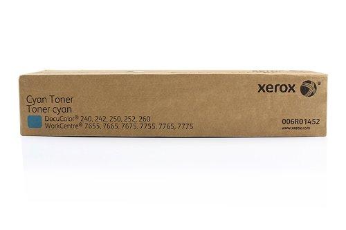Xerox Original Toner passend WC 7700 Series DC240 006R01452-2x Premium Drucker-Kartusche - Cyan - 2X 34000 Seiten - 34000 Serie