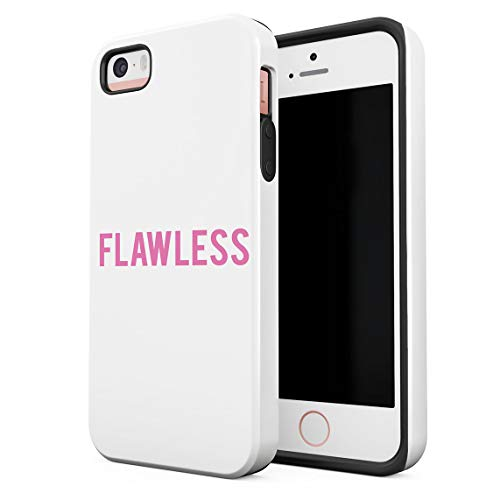 Cover Universe Hüllen für iPhone 5 / 5s / SE Hülle, Pink Flawless Perfect stoßfest, zweilagig mit Hardcase aus PC + Hülle aus TPU, hybride Case Handyhülle (Iphone 5 Queen Bee)