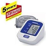 Omron Hem-8712 Blood Pressure Monitor (Multicolour)