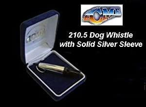 Acme Sterling Silver Working Dog Whistle 210.5 for Close Work and Spaniels
