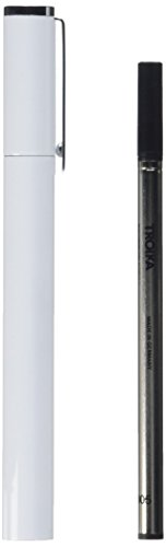 troika-glossy-designed-metal-rollerball-pen-white
