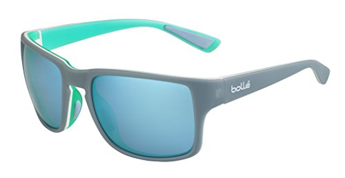 bollé Erwachsene Slate Sonnenbrille, Matt Storm Lagoon, Medium