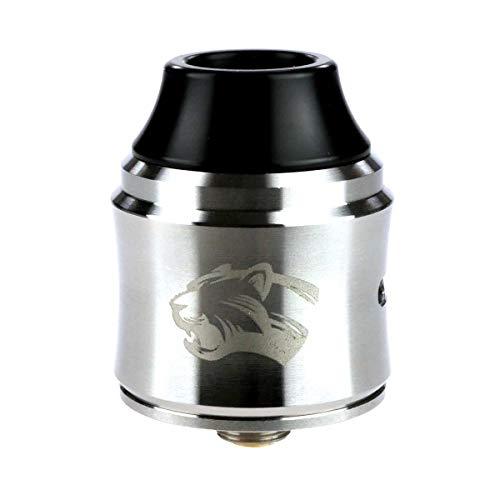 OBS Cheetah 3 RDA Clearomizer, Tröpfler, Durchmesser 25 mm, Riccardo Verdampfer für e-Zigarette, silber