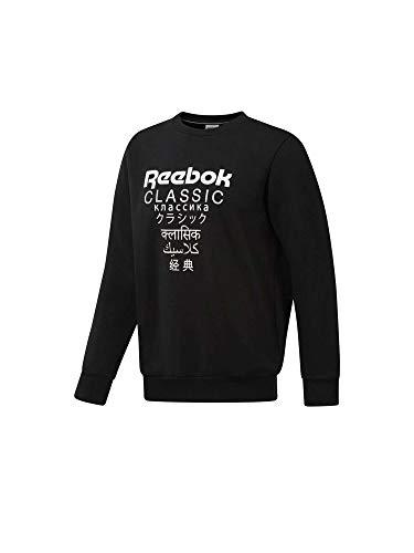 Reebok Herren Pullover GP Unisex schwarz L (Reebok Sweatshirt)