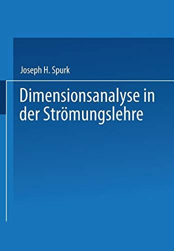 Dimensionsanalyse in der Strömungslehre
