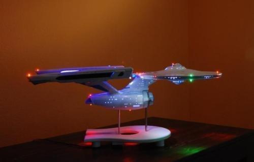 ENTERPRISE 1701 1:350 EFFECT LED LIGHTING KIT STAR TREK AMT POLAR LIGHTS pll808