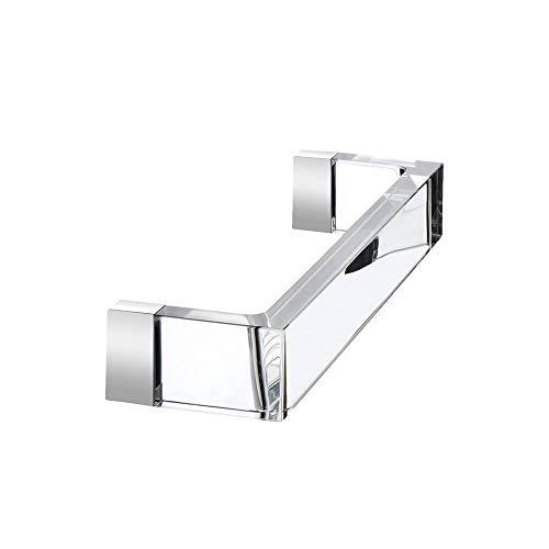 Kartell Rail 30 cm by Laufen transparenter Kristall Handtuchhalter